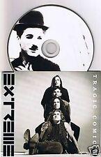 EXTREME TRAGIC COMIC 4 TRACK PICTURE CD SINGLE 1992