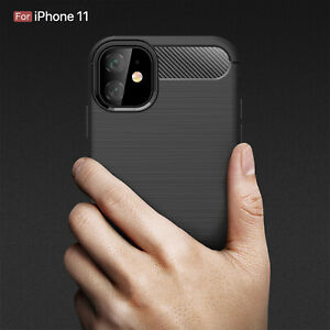 Shockproof Silicone Light Brushed Case for Apple 11/SE 2/ Samsung S20/ S20+