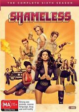 Shameless : Season 6 (DVD, 2017, 3-Disc Set)