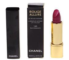 Chanel Rouge Allure Lip Colour Plum Purple Lipstick - 145 Rayonnante - RRP £28
