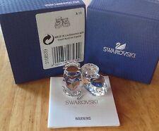 Swarovski Baby Figurine BABY SHOES ~ BLUE    #5108539