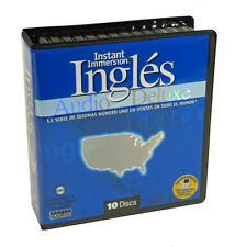 Instant Immersion Learn to Speak Ingles - Spanish to English - 8 Audio CD Set