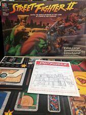 Street Fighter II Board Game Milton Bradley 1994 Vintage Capcom Complete 12