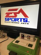 Fifa International Soccer Game for SNES Super Nintendo Boxed with Manual-working