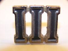 1965 1966 1967 PLYMOUTH FURY III EMBLEM OEM #2524226