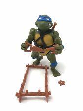 Vintage TMNT Ninja Turtles 1988 Leonardo (soft head) Near Complete