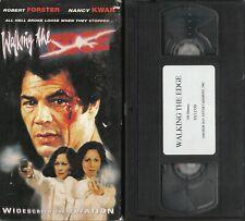 WALKING THE EDGE VHS ANCHOR BAY ROBERT FORSTER JOE SPINELL NANCY KWAN 1983 RARE