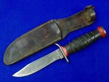 Us Vietnam Era Imperial Mk1 Fighting Knife w/ Sheath