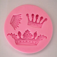 3D Crown Silicone Fondant Mold Cake Decorat Chocolate Baking Mould Sugarcraft