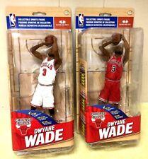 McFarlane DWYANE WADE NBA 30 CHASE VARIANT 377/500 LOT CHICAGO BULLS & REGULAR
