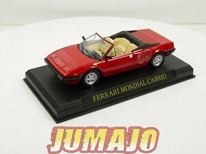 FER17 Coche 1/43 ixo altaya: Ferrari Mondial Cabrio