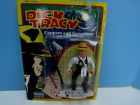 VINTAGE 1990 DICK TRACY'S ACTION PVC FIGURE & ACCESSORIES NOS IN BLISTER PACK