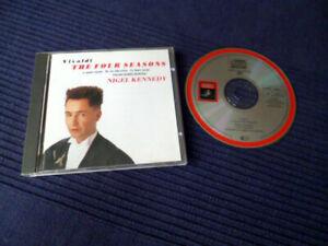 CD Nigel Kennedy - Vier Jahreszeiten Four Seasons English | Excellent Condition
