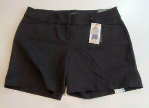 Womens The Limited Tailored Short Size 10 Black NWT
