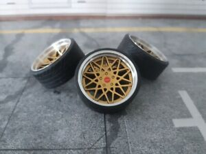 1:18 Scale ROTIFORM BLQ 19 INCH REAL ALU WHEELS, NEW! several colors available!