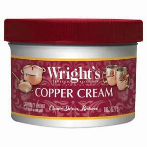Wright's Copper Cream - For Cleaning and Polishing Pots, Sinks, Mugs, Hardware,