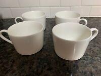 4 Christopher Stuart Optima cups mugs Super Strong Cosmopolitan White