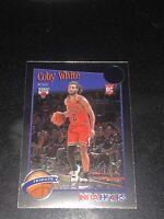 2019-20 NBA Hoops Premium Stock COBY WHITE RC TRIBUTE CENTRD Bulls #295 MINT!!💥