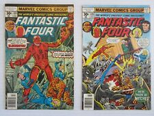 Fantastic Four 2 Issue Run Lot #184 & 185  VG/FN  Marvel vs Eliminator & Witches