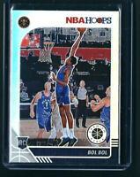 Bol Bol SILVER PRIZM RC 2019-20 NBA Hoops Premium Stock NUGGETS ROOKIE CARD SP🔥