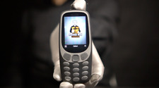 Nokia 3310 2019 4G Phone Grey - 'The Masked Man'