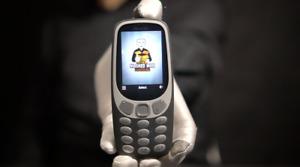 Nokia 3310 2019 4G Phone Grey - 'The Masked Man'