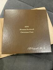 1976 Norman Rockwell Christmas Plate The Continental Mint Inc.