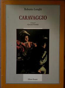 CARAVAGGIO ROBERTO LONGHI Editori Riuniti