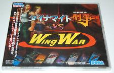 Dynamite Deka Vs Wing War Original Sound Track Sega Direct Music CD * Brand New