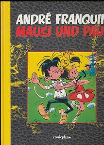 MAUSI und PAUL LUXUSAUGABE - FRANQUIN KOMPLETT im SCHUBER - COMICPLUS 1993 - OVP