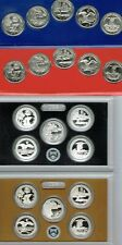 """All """"20"""" x 2018 Quarter Types Proof Silver & Clad With P & D From Mint Set!"""