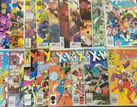 Huge 140+ Issue X-Men Comic Book Lot No Duplicates Great Set Marvel Comics BBX25