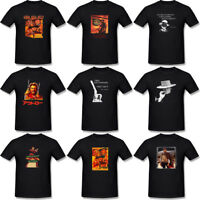 New Men's Clint Eastwood Movie Graphic Poster T-Shirt Black