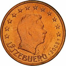 [#461399] Luxemburg, 5 Euro Cent, 2009, UNC-, Copper Plated Steel, KM:77