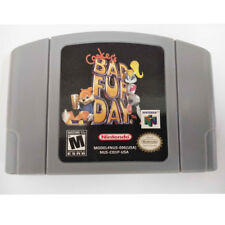 Conkers Bad Fur Day Nintendo 64 N64 Game Cartridge Playing Card US Version