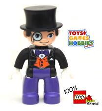 *NEW* LEGO DUPLO The Penguin Figure -Batman Justice League Top Hat Super Hero