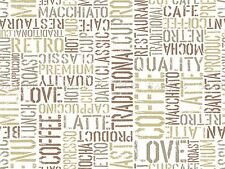 PAINTING TYPOGRAPH ABSTRACT COFFEE PATTERN DESIGN VECTOR ART POSTER PRINT LV6189