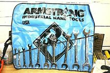 Armstrong 10 Piece, 6 to 24mm Open End Wrench Set