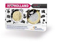 NEDERLAND 2016 Holland Coincard serie * Ik hou van Holland * Drop