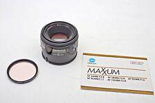 Sony-Minolta A-Konica AF 50mm f1.7 Maxxum/Alpha/Dynax Prime Crossed XX Lens++WoW