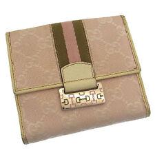 Auth GUCCI W Hook Wallet GG Pattern  Shelley Line / Women''s used N051