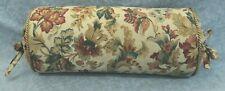 NEW Corded Pillow made w Ralph Lauren High Gate Burgundy & Green Floral Fabric