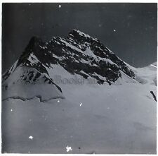 Suisse Alpes Montagne Photo G13 Plaque de verre Stereo Vintage