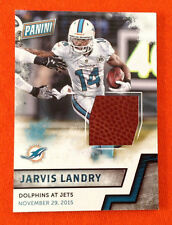 2016 Panini Fathers Day Game Dated Ball Relic JARVIS LANDRY Dolphins 11/29/15