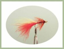 Dancer Trout Flies, Lures, 12 Pack, Orange and Fire Dancer, size 10 Fly Fishing