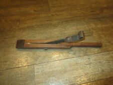 Vintage Wood And Metal Upholstery Tool Fabric Spring Puller? Antique Equipment