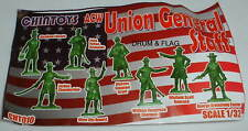 CHINTOYS cht010 ACW UNION GENERAL STAFF. AMERICAN CIVIL WAR. 1/32 SCALE. c60mm