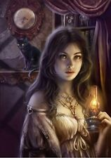 The Witching Hour - 1000 piece puzzle / Gothic, Dark Fantasy