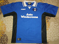 "1997 - 1998 Birmingham City football shirt vintage jersey size ""L"" home top PONY"