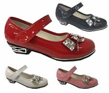 Party Synthetic Shoes with Hook & Loop Fasteners for Girls